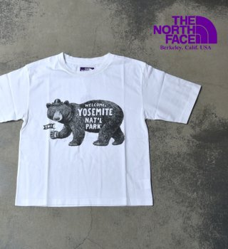 【THE NORTH FACE PURPLE LABEL】ノースフェイスパープルレーベル women's 5.5oz Graphic H/S Tee