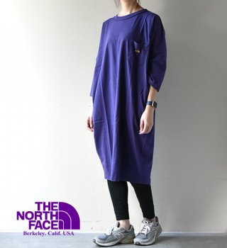 【THE NORTH FACE PURPLE LABEL】ノースフェイスパープルレーベル women's 5.5oz Crew Neck Dress