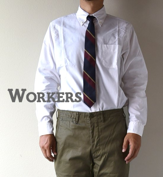"""【WORKERS】ワーカーズ Modified BD """"White"""""""
