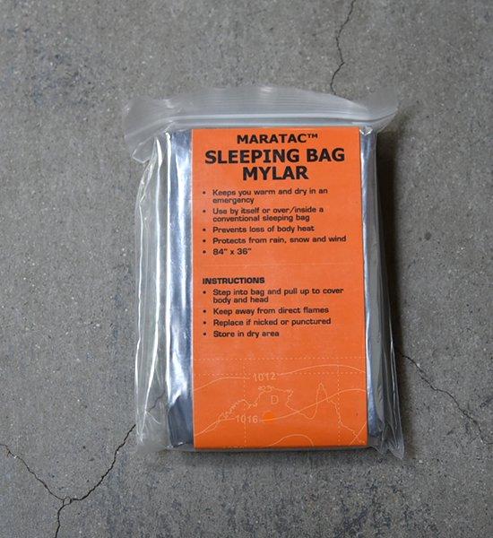 【MARATAC】マータック Emergency Sleeping Bag