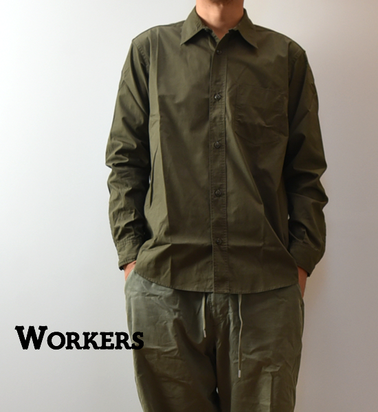 【WORKERS】 ワーカーズ 1Pocket Work Shirt