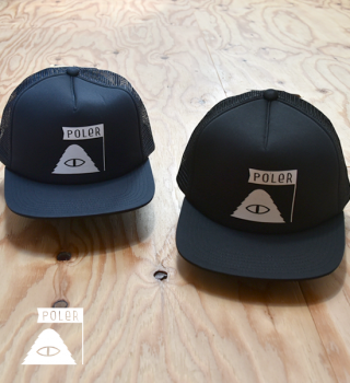 "【POLER】ポーラー Summit Trucker Mesh Cap ""2Color"""