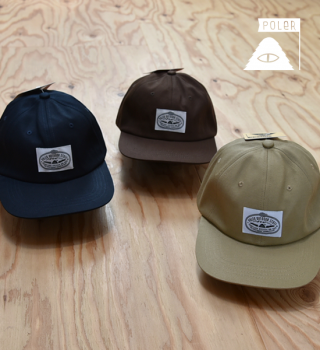 "【POLER】ポーラー Lasso Draw Cord Cap ""3Color"""