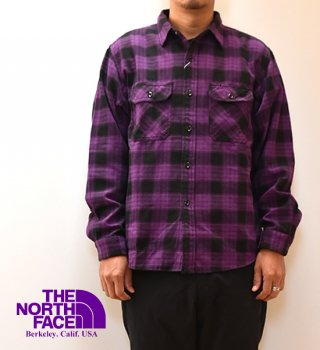 <img class='new_mark_img1' src='https://img.shop-pro.jp/img/new/icons13.gif' style='border:none;display:inline;margin:0px;padding:0px;width:auto;' />【THE NORTH FACE PURPLE LABEL】ノースフェイスパープルレーベル men's Twill Check Shirt