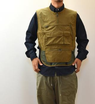 【Яeft】レフト Classic Mountain Hiker Vest