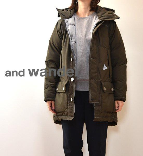 【and wander】アンドワンダー women's tough down coat