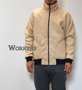 "【WORKERS】ワーカーズ Sliver Fleece Jacket ""Beige"""