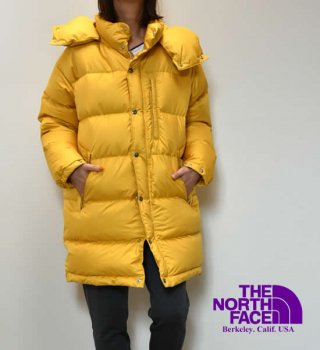【THE NORTH FACE PURPLE LABEL】ノースフェイスパープルレーベル women's Polyester Ripstop Sierra Coat