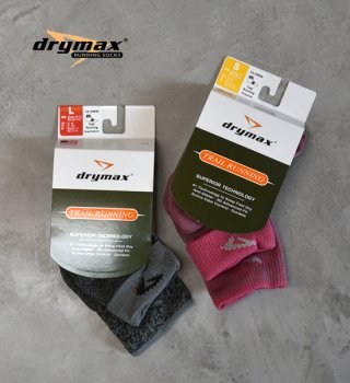 【drymax】ドライマックス Trail Running 1/4 Crew