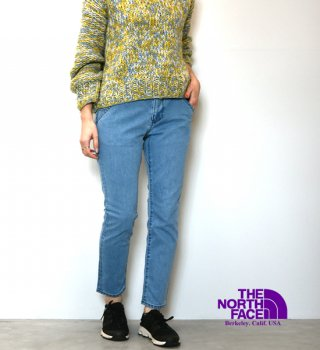 "【THE NORTH FACE PURPLE LABEL】ノースフェイスパープルレーベル women's Webbing Belt Denim Pants ""2Color"