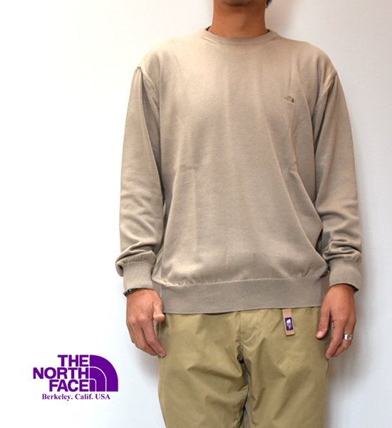 """【THE NORTH FACE PURPLE LABEL】ノースフェイスパープルレーベル Pack Field Sweater """"2Color"""""""