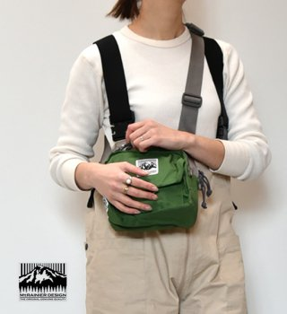【MT. RAINIER DESIGN】マウントレイニアデザイン Original Flap Side Bag