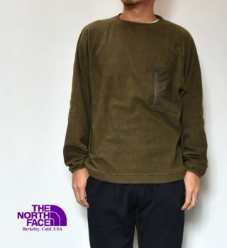 "【THE NORTH FACE PURPLE LABEL】ノースフェイスパープルレーベル Pack Field Fleece Crew ""2Color"""
