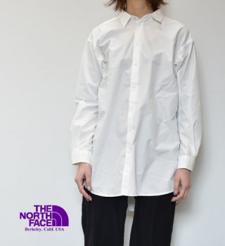 <img class='new_mark_img1' src='https://img.shop-pro.jp/img/new/icons13.gif' style='border:none;display:inline;margin:0px;padding:0px;width:auto;' />【THE NORTH FACE PURPLE LABEL】ノースフェイスパープルレーベル women's Typewriter L/S Shirt