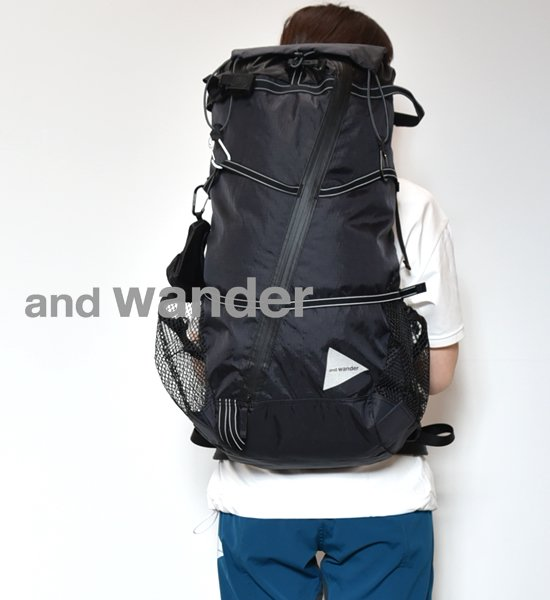 【and wander】アンドワンダー women's X-Pac 40L backpack