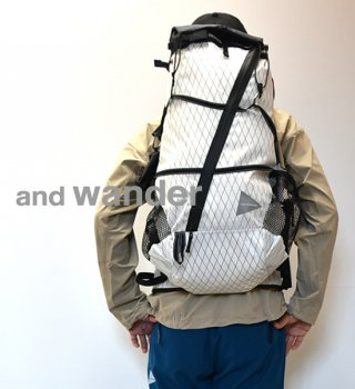 【and wander】アンドワンダー men's X-Pac 45L backpack