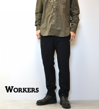 "【WORKERS】ワーカーズ Officer Trousers,Slim,Type1 ""Dark Navy"""