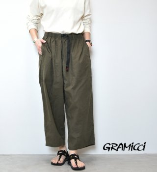 "【GRAMICCI】グラミチ women's Linen Balloon Pants ""3Color"""