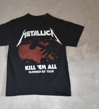 <img class='new_mark_img1' src='https://img.shop-pro.jp/img/new/icons13.gif' style='border:none;display:inline;margin:0px;padding:0px;width:auto;' />【Band Tee】Metallica