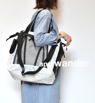 【and wander】アンドワンダー X-Pac 25L 3way tote bag