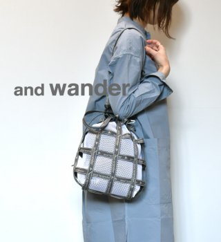 【and wander】アンドワンダー JQ tape bag