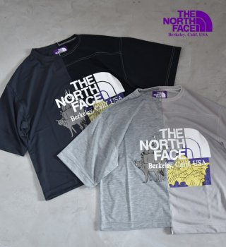 <img class='new_mark_img1' src='https://img.shop-pro.jp/img/new/icons13.gif' style='border:none;display:inline;margin:0px;padding:0px;width:auto;' />【THE NORTH FACE PURPLE LABEL】ノースフェイスパープルレーベル women's Crazy H/S Logo Tee