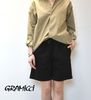 "【GRAMICCI】グラミチ women's G-Shorts ""4Color"""
