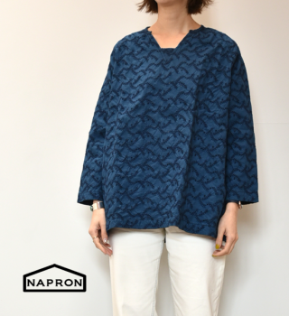 "【NAPRON】ナプロン Gather Work Shirts ""2Color"