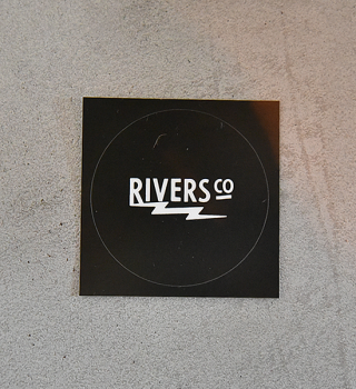 【RIVERS】リバーズ Sticker Rivers RS Thunder