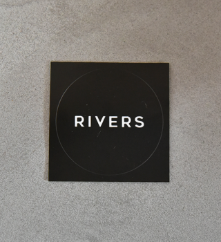 【RIVERS】リバーズ Sticker Rivers RS Box
