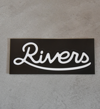 【RIVERS】リバーズ Sticker Rivers Standard L