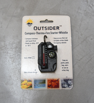 【SUN COMPANY】サンカンパニー Outsaider 4in1 Survival Tool