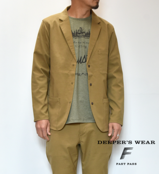 【ALL YOURS】オールユアーズ Fast-Pass 5P Jacket
