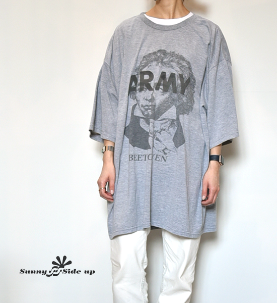 【Sunny side up】サニーサイドアップ Beethoven Army Tee(Big)