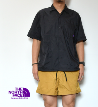 【THE NORTH FACE PURPLE LABEL】ノースフェイスパープルレーベル men's Nylon Ripstop H/S Shirt