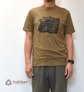 【Trail Bum】トレイルバム Cool Max Print T-Shirts