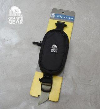 "【GRANITE GEAR】グラナイトギア Shoulder Strap Pocket ""Black"""