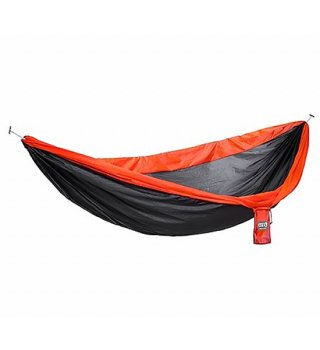 "【ENO】イーノ SuperSub™ Ultralight Hammock ""Charcoal×Orange"