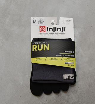 【injinji】インジンジ Run Midweight Mini Crew