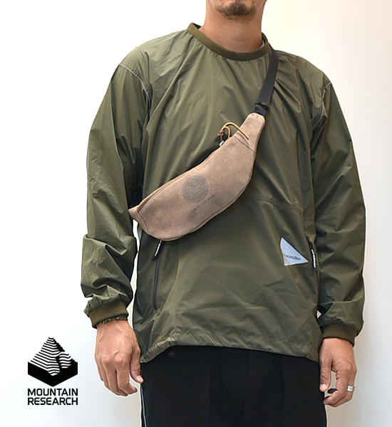 """【Mountain Research】マウンテンリサーチ Fanny Pack """"Beige"""" ※ネコポス可"""