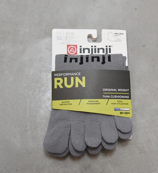 【injinji】インジンジ Run Original Weight Mini-Crew
