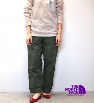 【THE NORTH FACE PURPLE LABEL】ノースフェイスパープルレーベル women's Ripstop Shirred Waist Pants