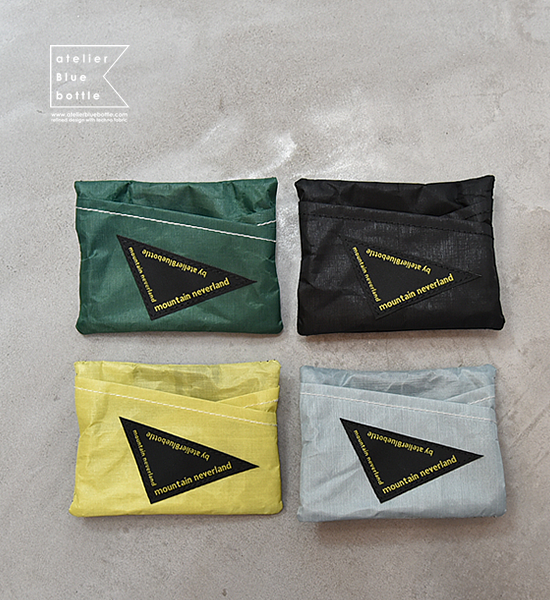 "【atelier Blue bottle】 アトリエブルーボトル Hiker's WALLET-01 DCF ""4Color"" ※ネコポス可"