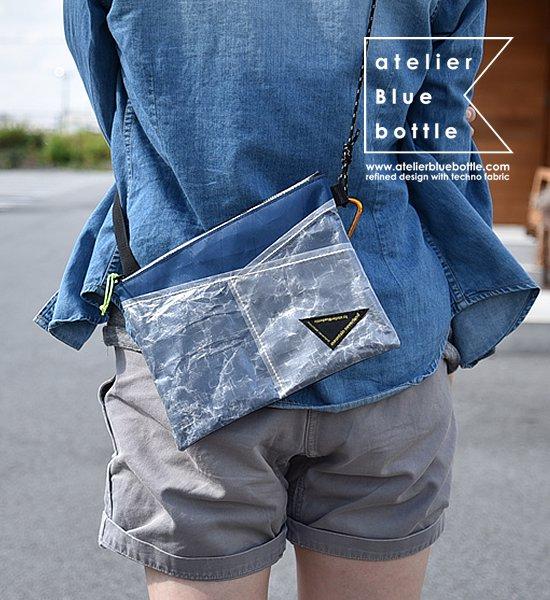"【atelier Blue bottle】 アトリエブルーボトル Hiker's Sacoche ""4Color"" ※ネコポス可"