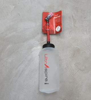 【UltrAspire】ウルトラスパイア 500ml SoftFlask with Straw & Valve