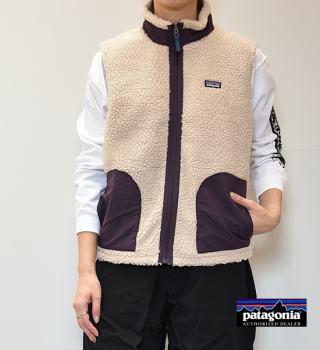 <img class='new_mark_img1' src='https://img.shop-pro.jp/img/new/icons13.gif' style='border:none;display:inline;margin:0px;padding:0px;width:auto;' />【patagonia】パタゴニア Kid's Retro-X Vest