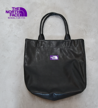 """<img class='new_mark_img1' src='https://img.shop-pro.jp/img/new/icons13.gif' style='border:none;display:inline;margin:0px;padding:0px;width:auto;' />【THE NORTH FACE PURPLE LABEL】ノースフェイスパープルレーベル Synthetic Leather Tote """"Black"""""""