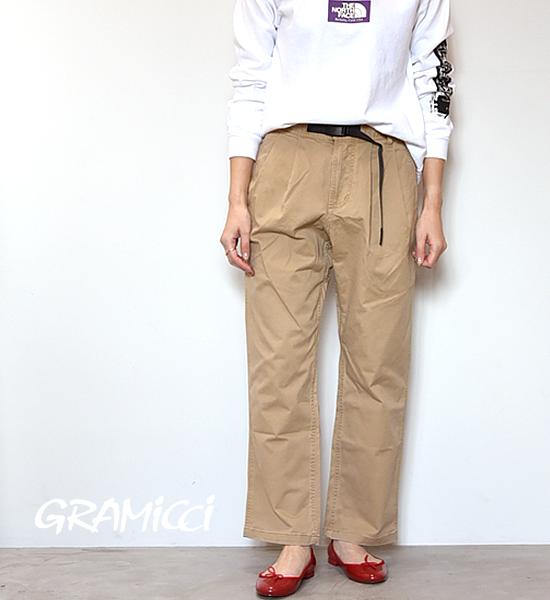 """【GRAMICCI】グラミチ women's Gurkha Pants """"Chino"""""""