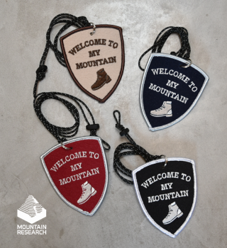 """【Mountain Research】マウンテンリサーチ Patch Necklace """"4Color"""" ※ネコポス可"""