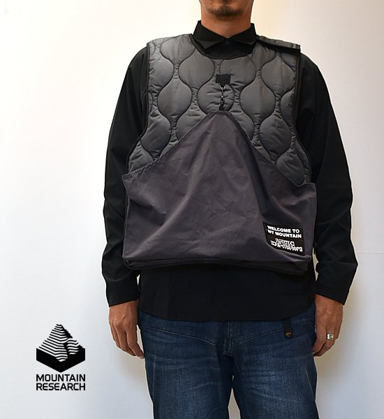 """【Mountain Research】マウンテンリサーチ AMMO Vest """"2Color"""""""